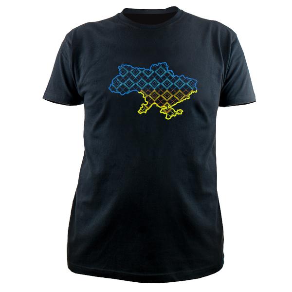 Вышитая футболка №18