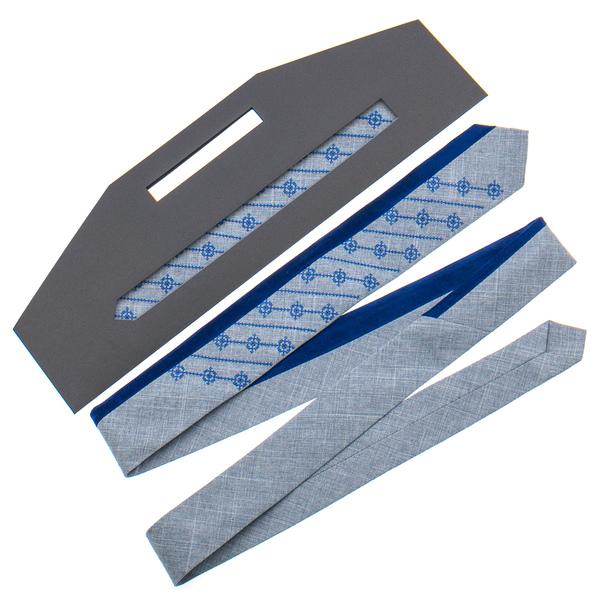 Оригинальный вышитый галстук №815