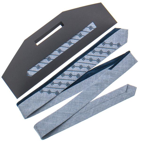 Оригинальный вышитый галстук №817