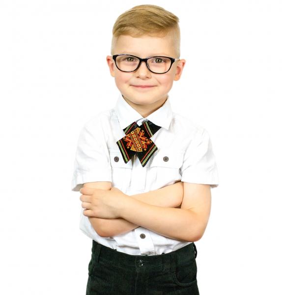 Детский кросс-галстук с вышивкой Зорегляд