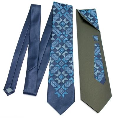 Вышитый галстук Завид