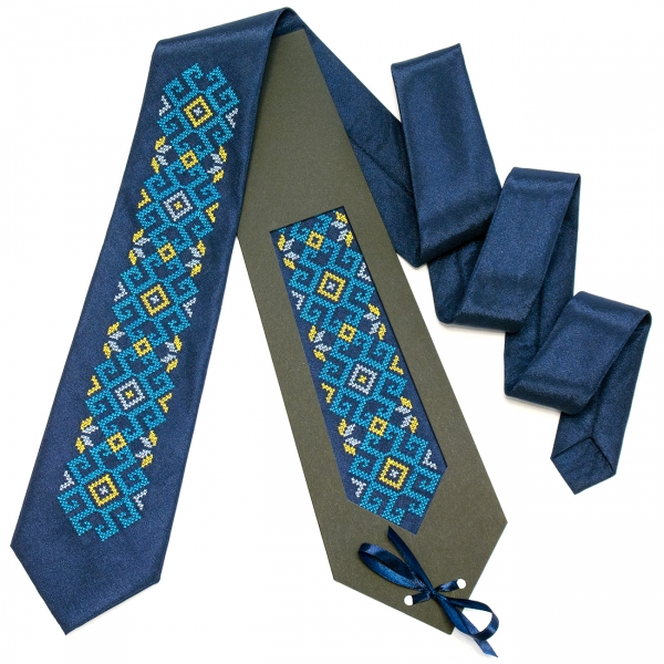 Вышитый галстук Зоран