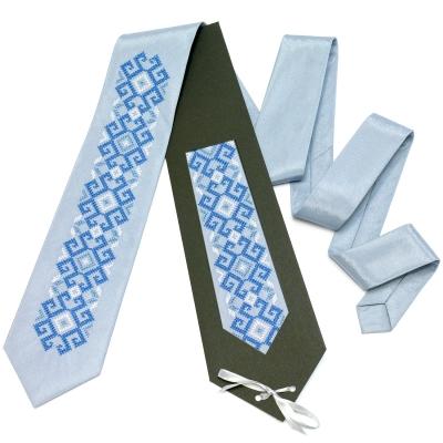 Вышитый галстук Тиса