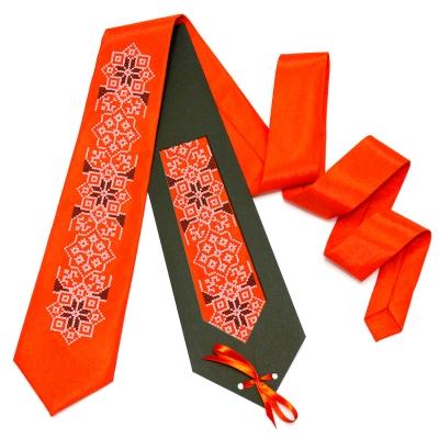 Вышитый галстук Велидух