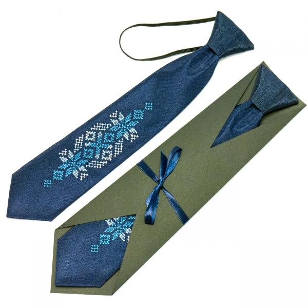 Детский вышитый галстук Волын