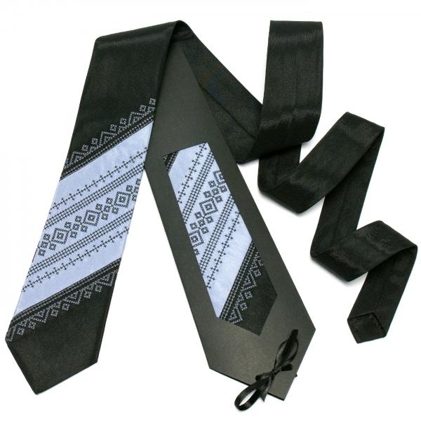 Оригинальный вышитый галстук №645