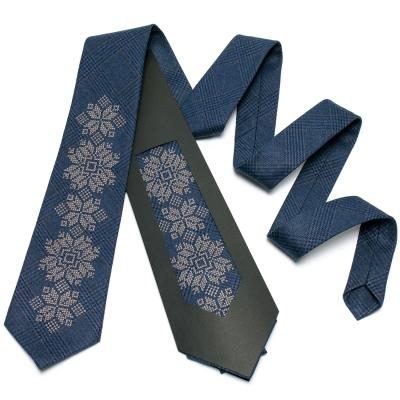 Модный вышитый галстук №652