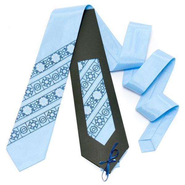 Голубой галстук №607
