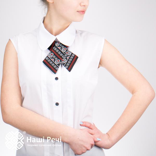 Кросс-галстук с вышивкой Чаяна