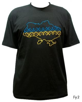 Вышитая футболка №16