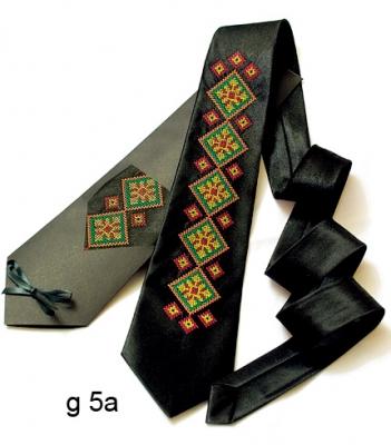 Галстук с вышивкой Чорнотур