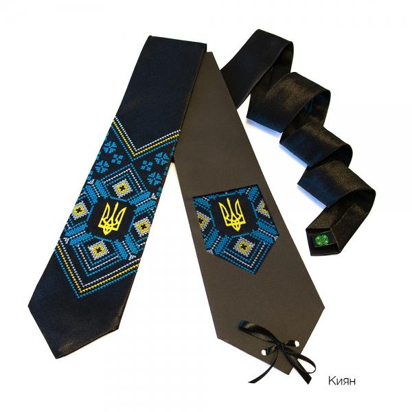 Галстук с вышивкой Киян