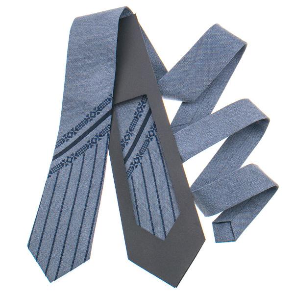 Оригинальный галстук с вышивкой №840