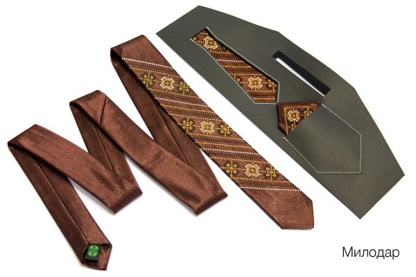 Мужской набор с платком Милодар