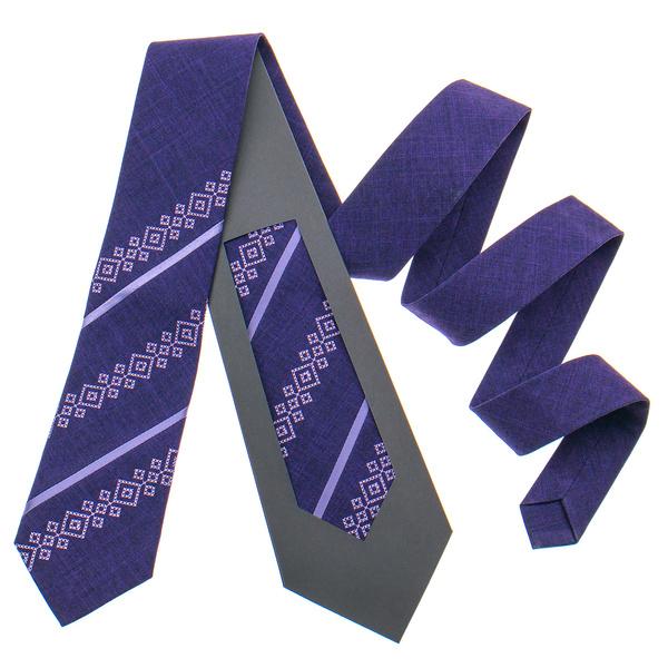 Оригинальный вышитый галстук №797