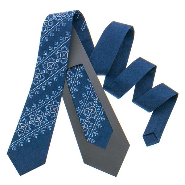 Модный вышитый галстук №798
