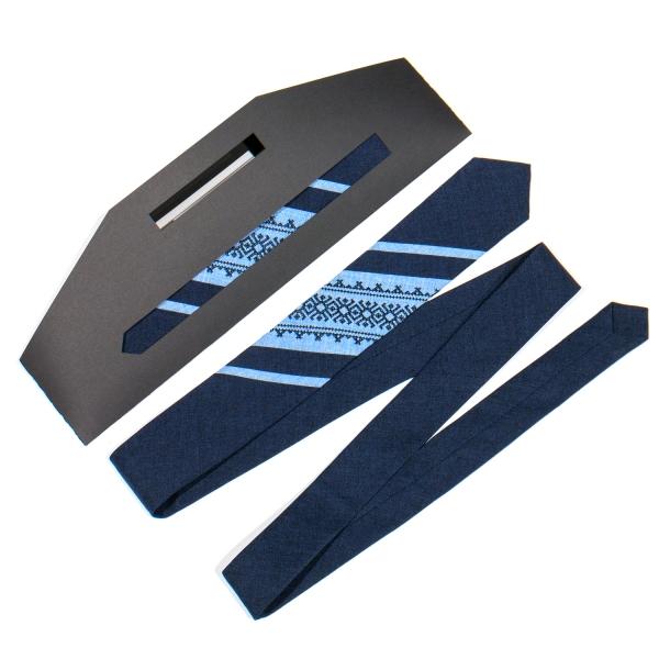 Оригинальный вышитый галстук №767