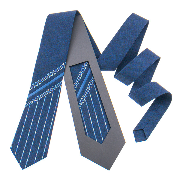 Оригинальный вышитый галстук №847