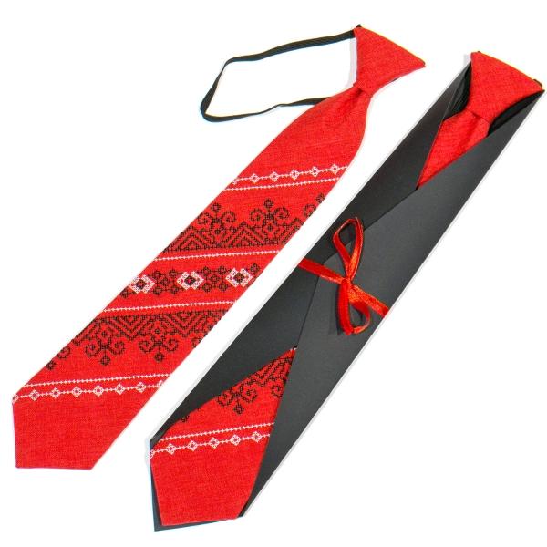 Подростковый вышитый галстук №790