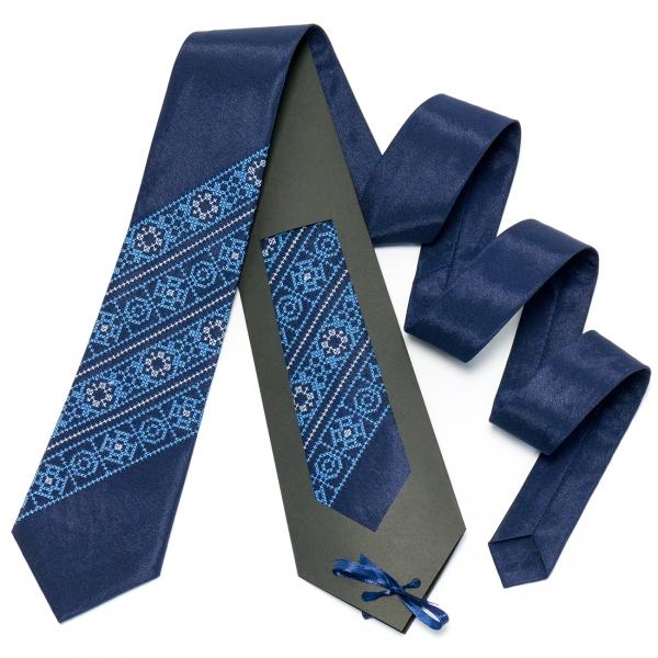Синий галстук №609