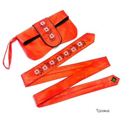 Клатч с галстуком Трояна