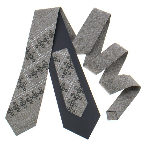 Вышитый галстук №800. Ограниченная серия