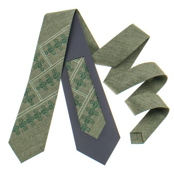 Вышитый галстук №801. Ограниченная серия