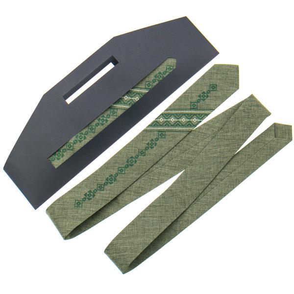 Вышитый галстук №802. Ограниченная серия