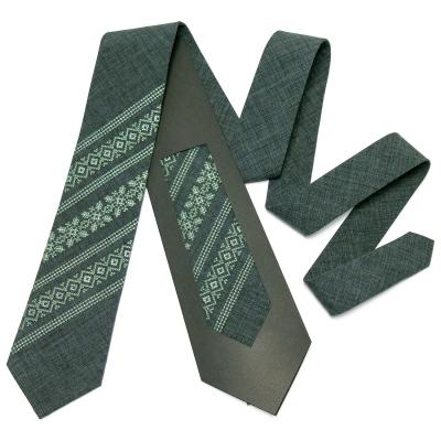 Модный вышитый галстук №663
