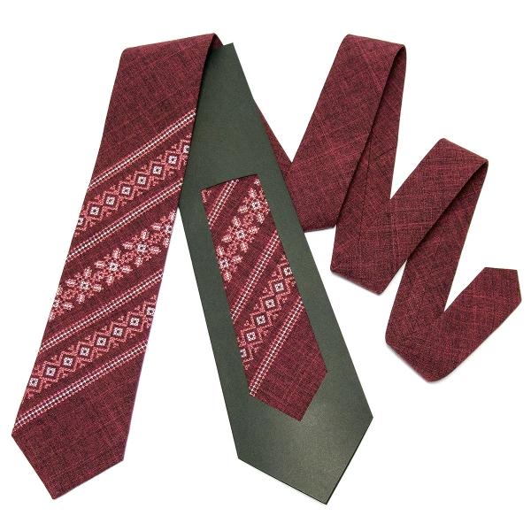 Модный вышитый галстук №664