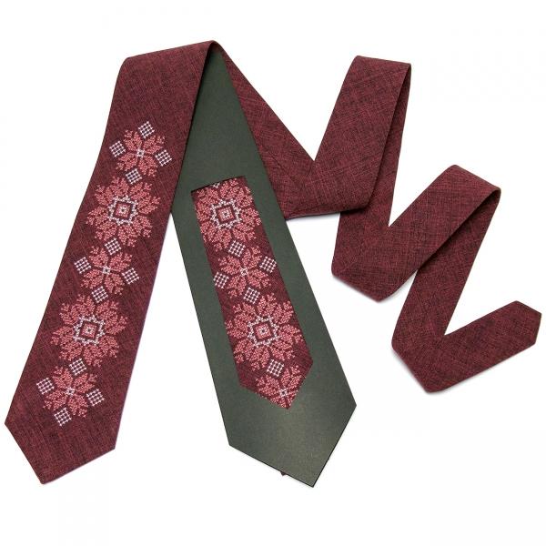 Модный вышитый галстук №667
