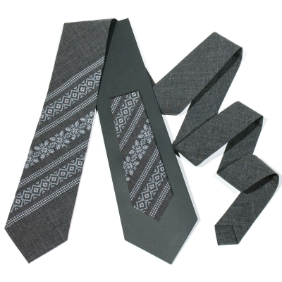 Модный вышитый галстук №680