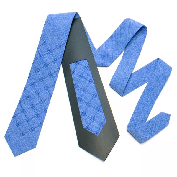 Вышитый галстук №732