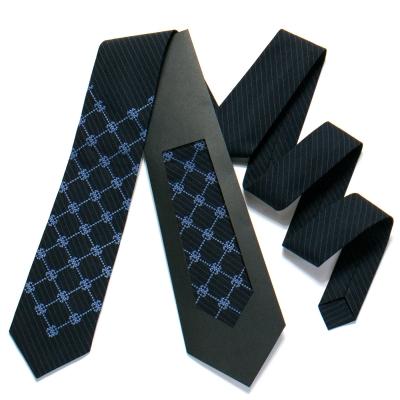 Вышитый галстук №721