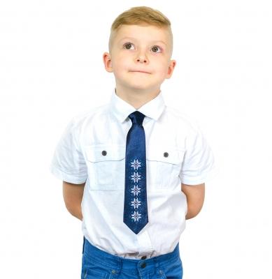 Детский галстук с вышивкой Яр