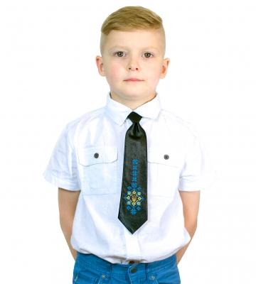 Детский галстук с вышивкой Ясногор