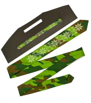 Узкий галстук с вышивкой Зело